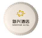Fashion paper coaster for hotel&spa/disposable with logo/QT007