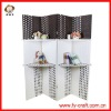 Fashion style exquisite 4 panels folding screen room divider