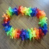 party supplies polyester flower lei