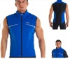Men's fleece cycling vest