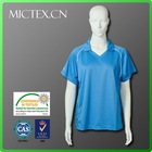 100% polyester short sleeve sportswear dri fit shirts wholesale
