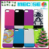Factory price slider case with pc+tpu for iphone5 case
