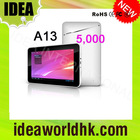 7 inch A13 google capacitive tablet pc