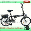 36v folding electric bicycle Range 70-80km