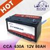12V 80AH tractor battery - 95D31L