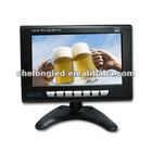 7 inch ISDB digital car lcd monitor for Japan