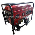 2.0kva portable digital mini gasoline generator with wheels and trolly handle electric start