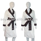 bath gown,fleece robe,fleece bathrobe