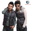 XGBLUO mens padded gilet