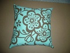 Printed Jacquard weave cotton sofa cushion