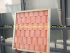 lightweight wall cladding slate- red tile effect