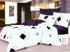 Cheap fitted cartoon wedding bed sheet sets