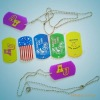 new design and practical silicone dog tag
