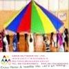 Dia 5.0m rainbow kids playing parachute