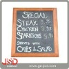 wooden wall single side blackboard with good quality