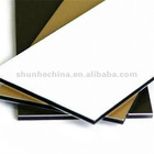 Stable quality PE/PVDF aluminum composite panel
