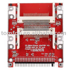 """2.5"""" Dual CF Compact Flash to 44 pin IDE Male Adapter Converter"""