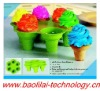 Free packing New Arrival Silicone Ice Cream Cups