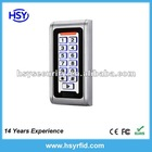 IP68 Waterproof RFID Access Control System with EM card Reader and keypad