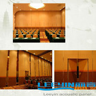 acoustic properties materials meeting room center sliding partition