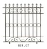Iron fence accessories