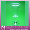 PS Transparent plastic wine cup