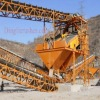 quarry and mine environmental conveyor discharger