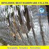 Single razor galvanized razor wire top fencing wire