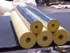 Fiberglass wool Insulation Pipe / Glasswool Pipe