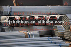 GI ERW steel pipes/tube stkm 13a