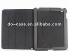 Smart case for ipad 2,3 case,PU and fiber,for ipad new case