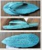 2012 HOT leaf design PVC air blowing slipper mould