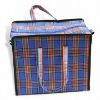large shopping bag with zipper, customized sizes are accepted, made of nonwoven