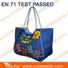 ( M4 )DM633 navy blue beach bag polyester