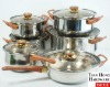 stainless steel hotsale Capsule Bottom Cookware Sets