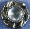 12mm rhinestone alloy decorating button for garments