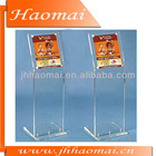 HOT SALE!!Acrylic Display Stand,acrylic display rack,acrylic poster,floor standing acrylic display