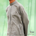 2013 Qatar style muslim men robe in pocket simple style