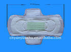 perforated surface sanitary pads with side leakageproof
