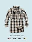 tee boys yarn dyed check polo shirt