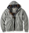 full zipper 100% Cotton Hoodies Sweatshirt