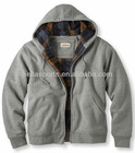 full zipper 100% Cotton Hoodies Sweatshirt