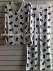 100% Cotton Allover Graphic Lady Pajamas Set