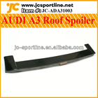 Carbon fiber Rear spoiler Roof spoiler Wing spoiler for AUDI A3