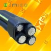 ABC Cable/ Al/XLPE 0.6/1kV overhead ABC cable