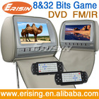 9 inch Erisin ES997D Car Headrest DVD Player with IR&FM Transmitter