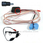 supper mini Earpiece with inductive loopset