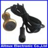 0.008lux 90 degree Electronic Brass Peephole Viewer Camera 13.8mm diameter CA012