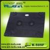 k-505f double fan laptop cooling pad