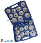 Aluminium Oil Filter Cap Wrench Set 23pc